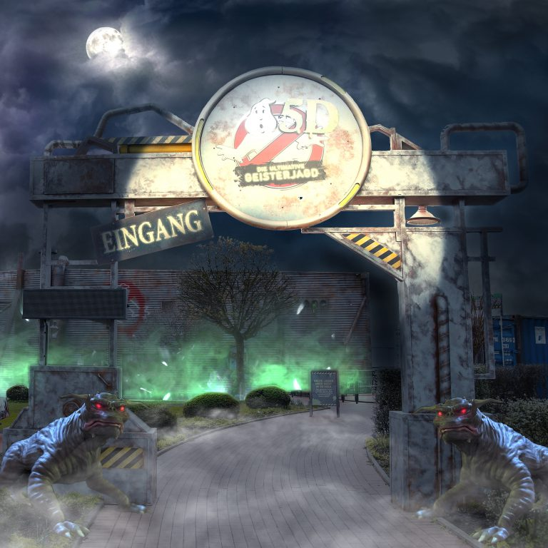 Ghostbusters 5D Heide Park , Masterplanning & Design, Executive Production & Themed Construction Project